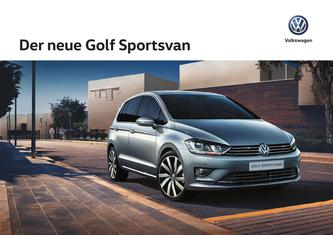 VW Golf Sportsvan 2017