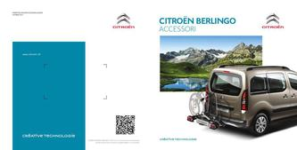 Berlingo Multispace Brochure accessori 2017 (Italienisch)