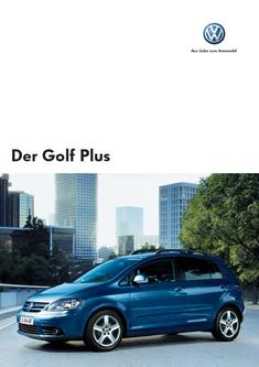 VW Golf Plus Katalog