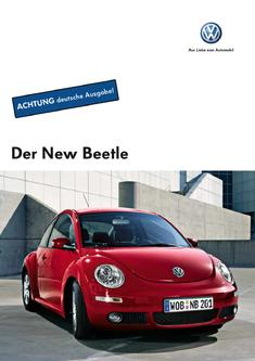 VW New Beetle Katalog