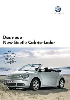 VW New Beetle Cabrio-Leder