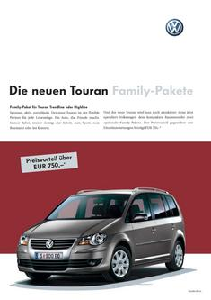 VW Touran Family Pakete