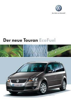 VW Touran EcoFuel Katalog
