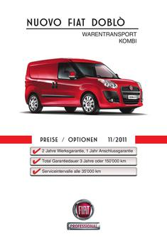 Doblo Warentransport Kombi 2011