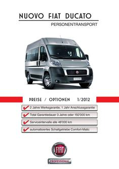 Ducato Personentransport 2012