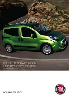 Fiat Qubo Preisliste September 2014