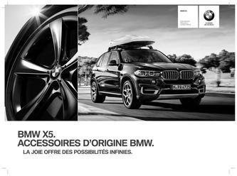 Accessoires BMW X5 (11/2013-) Liste des prix 2014 (Französisch)