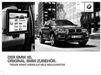 Zubehör BMW X6 Preisliste 2014