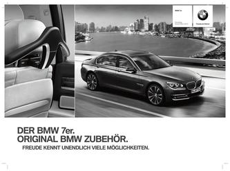 Zubehör BMW 7er Preisliste 2014