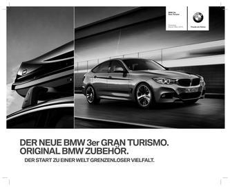 Zubehör BMW 3er Gran Turismo Preisliste 2014