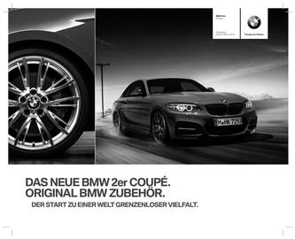 Zubehör BMW 2er Preisliste 2014
