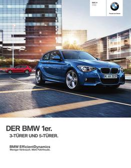 BMW 1er 3-Türer Katalog 2014