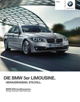BMW 5er Limousine Katalog 2014