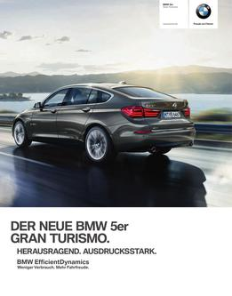 BMW 5er Gran Turismo Katalog 2014