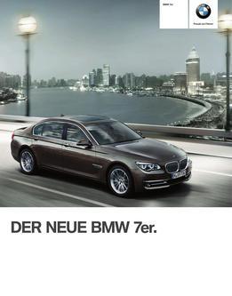 BMW 7er Limousine 2014