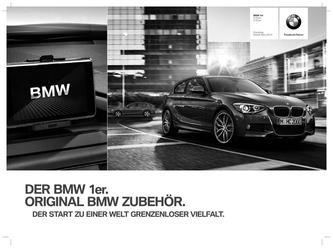 BMW Zubehör 1er Preisliste 2014