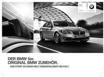 BMW Zubehör 5er Preisliste 2014