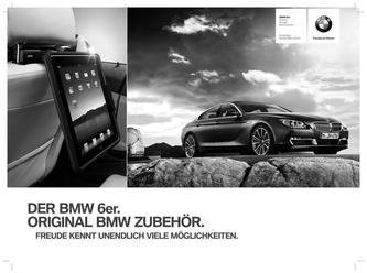 BMW Zubehör 6er Preisliste 2014