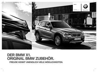 BMW Zubehör X1 Preisliste 2014
