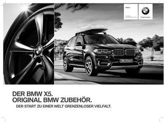 BMW Zubehör X5 Preisliste 2014