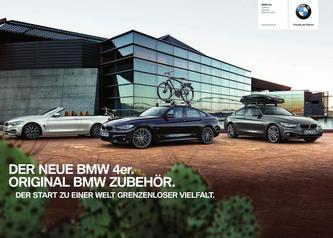 BMW Zubehör 4er Katalog 2014