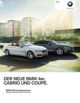 BMW 4er Cabrio und Coupé 2014