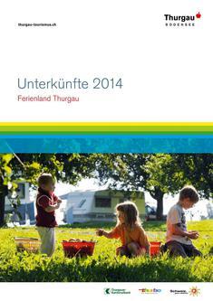 Unterkünfte Ferienland Thurgau 2014