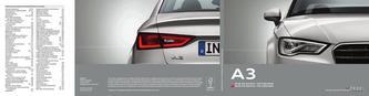 Audi A3 berline | A3 Cabriolet 2014 (Französisch)
