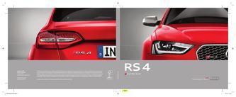 Audi RS 4 2014 (Französisch)
