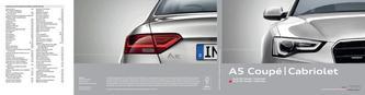 Audi A5 Coupé | Cabriolet 2014 (Französisch)