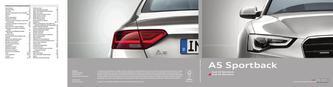 Audi A5 Sportback 2014 (Französisch)