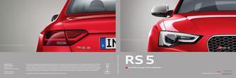 Audi RS 5 Coupé  | RS 5 Cabriolet 2014 (Französisch)