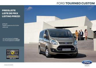 Ford Tourneo Custom Preisliste 2014