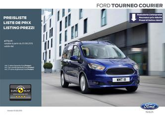 Ford Tourneo Courier - Preisliste 2015