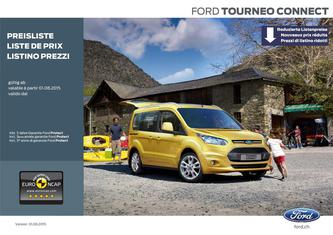 Ford Tourneo Connect - Preisliste 2015