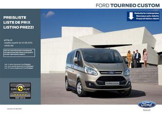 Ford Tourneo Custom - Preisliste 2015