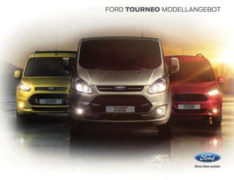 Ford Tourneo Modellangebot 2016