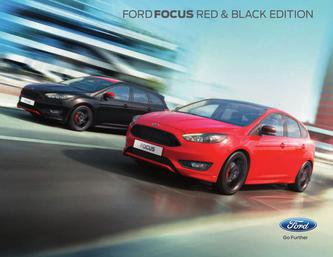 Ford Focus Red and Black Edition 2016