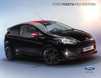 Fiesta Red and Black Edition 2016