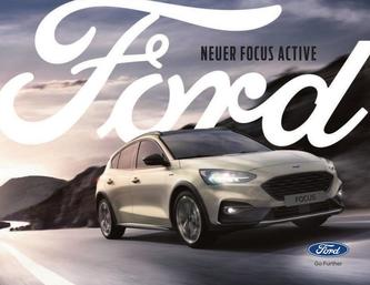 Ford Focus Active Nov 2018