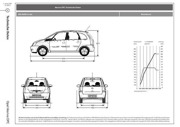 Seite 8 von Opel Österreich im Katalog Opel Meriva OPC Preise 2007