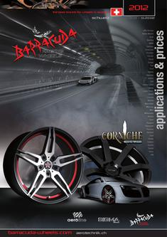 Applikationen/Preise Wheels & Spacers Schweiz 2012