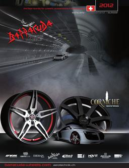 Barracuda & Corniche Wheels Schweiz 2012