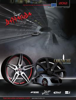 Barracuda & Corniche Wheels Europa 2012