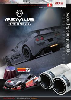 Remus Sportauspuff Schweiz 2012