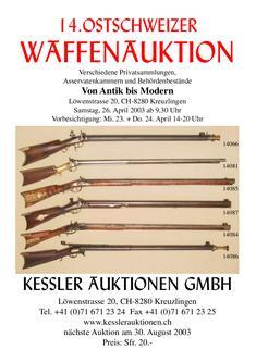 14. Ostschweizer Waffenauktion