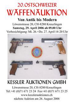 20. Ostschweizer Waffenauktion