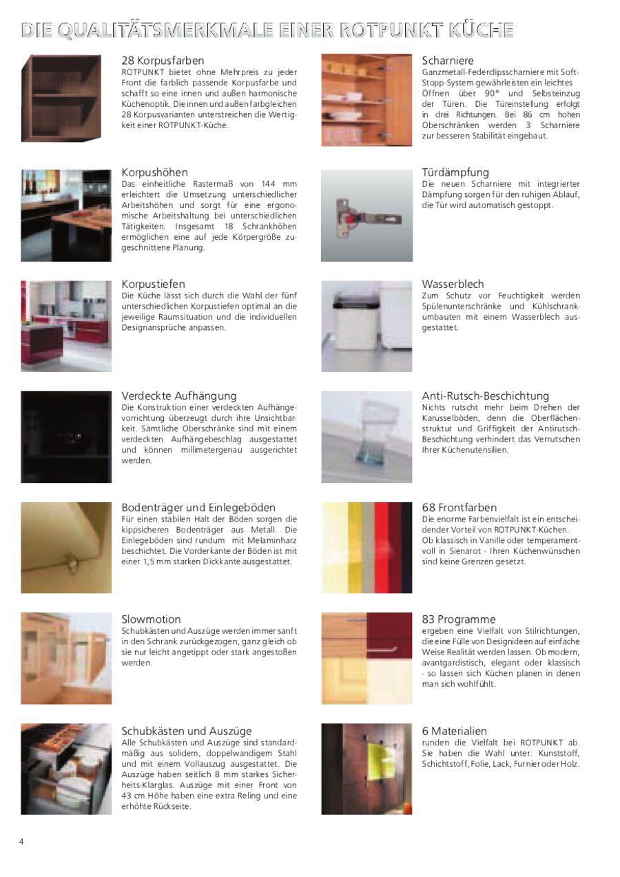 Seite 5 von Rotpunkt Küchen Frontenauswahl