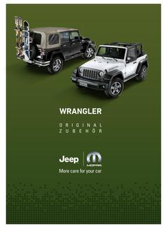 Jeep Wrangler & Wrangler Unlimited Original Zubehör 2016