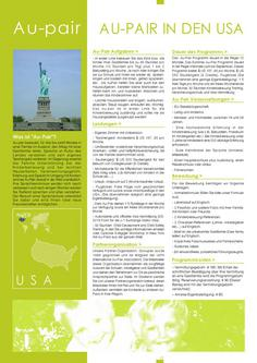 Au-pair in den USA 2011